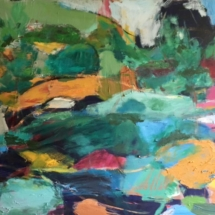 0Abstract Landscape ll 44 x 50